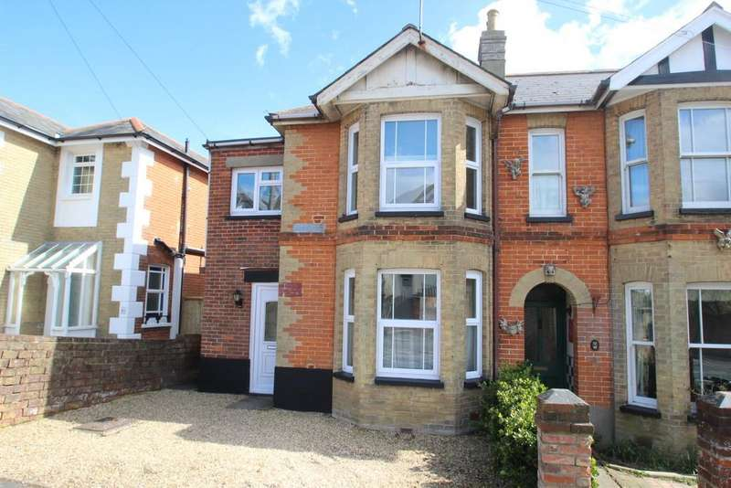 4 Bedrooms Semi Detached House for sale in Swanmore Road, Ryde