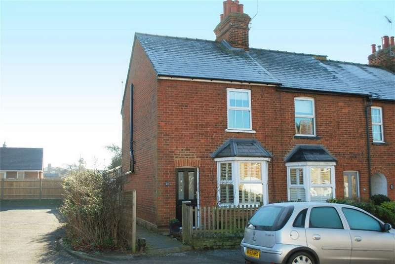 2 Bedrooms End Of Terrace House for sale in St Johns Road, HITCHIN, Hertfordshire