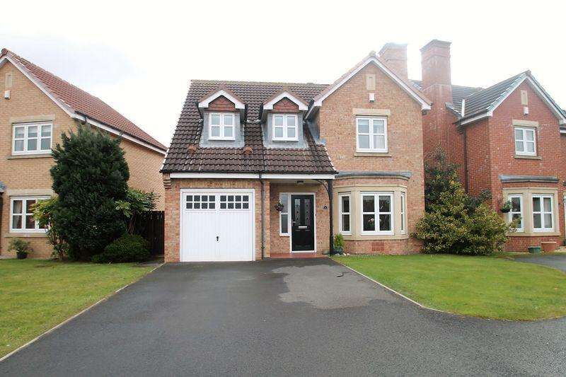 4 Bedrooms Detached House for sale in Bronte Way, Grange Park Billingham