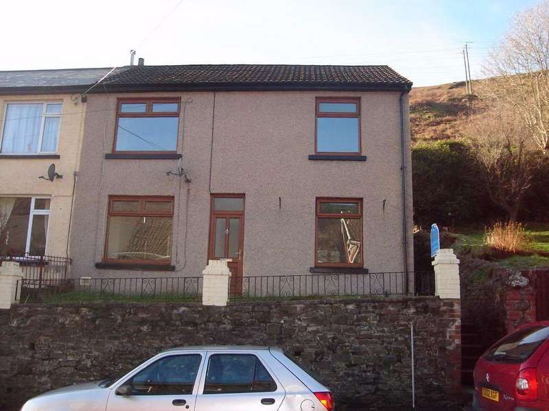 3 Bedrooms Semi Detached House for sale in Bryn Road, Ogmore Vale, BRIDGEND, CF32