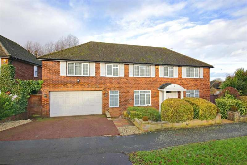 5 Bedrooms Detached House for sale in Summer Hill, Elstree, Borehamwood