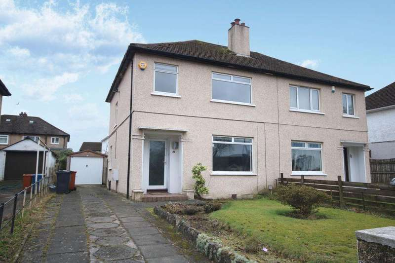 3 Bedrooms Semi Detached House for sale in 93 Canniesburn Road, Bearsden, Glasgow, G61 1HB
