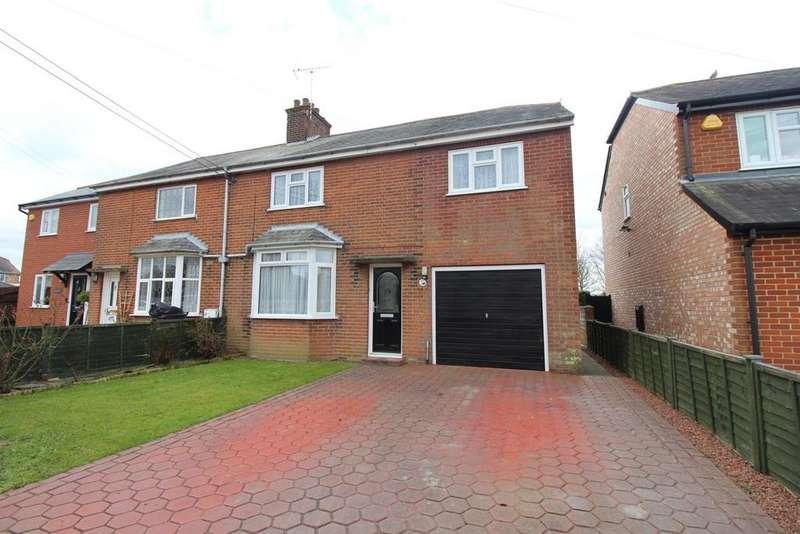 3 Bedrooms Semi Detached House for sale in New Road, Hatfield Peverel, Essex, CM3