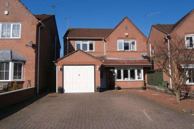 4 Bedrooms Detached House for sale in Pine View, Leicester Forest East, Leicester, LE3