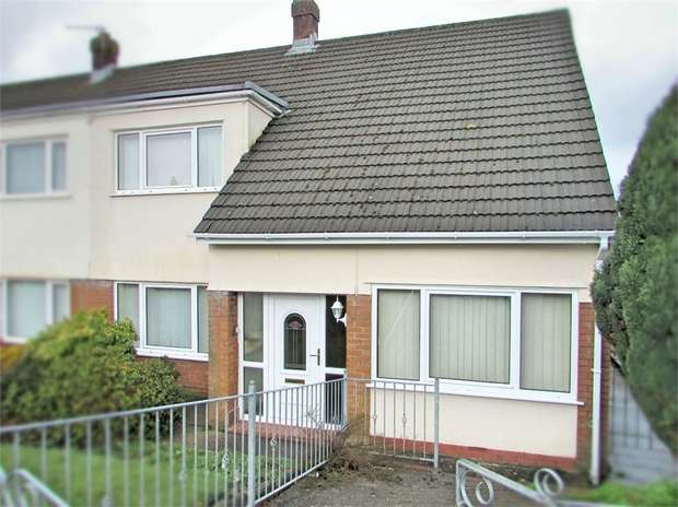 4 Bedrooms Semi Detached House for sale in Upland Road, NEATH, West Glamorgan