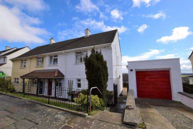 3 Bedrooms Semi Detached House for sale in Compton Avenue, Plymouth, Devon