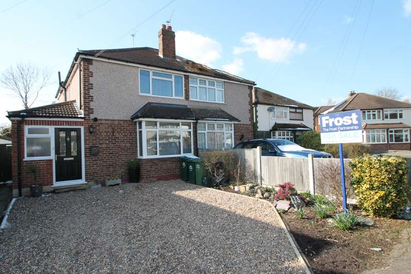 3 Bedrooms Semi Detached House for sale in Fernhurst Road, Ashford, TW15