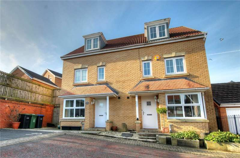 4 Bedrooms Semi Detached House for sale in Beechwood Close, Sacriston, County Durham, DH7
