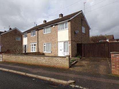3 Bedrooms Semi Detached House for sale in Knights Avenue, Clapham, Bedford, Bedfordshire