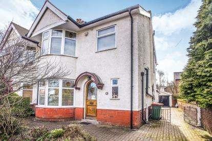 4 Bedrooms Semi Detached House for sale in Victoria Road, Fulwood, Preston, Lancashire, PR2