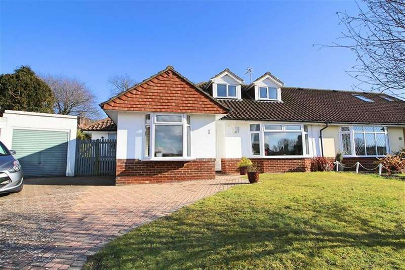 5 Bedrooms Semi Detached Bungalow for sale in The Meadows, Hove, East Sussex