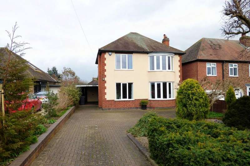 3 Bedrooms Detached House for sale in Rolleston Road, Burton On Trent