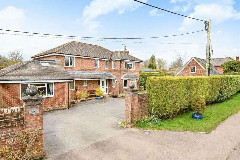 5 Bedrooms Detached House for sale in Broughton, Stockbridge, Hampshire
