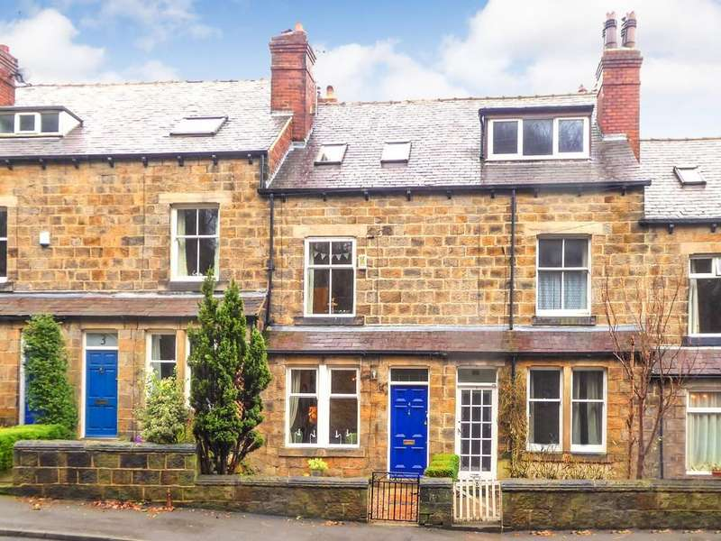 4 Bedrooms Terraced House for sale in Woodvale Terrace, Hawksworth Road, Horsforth