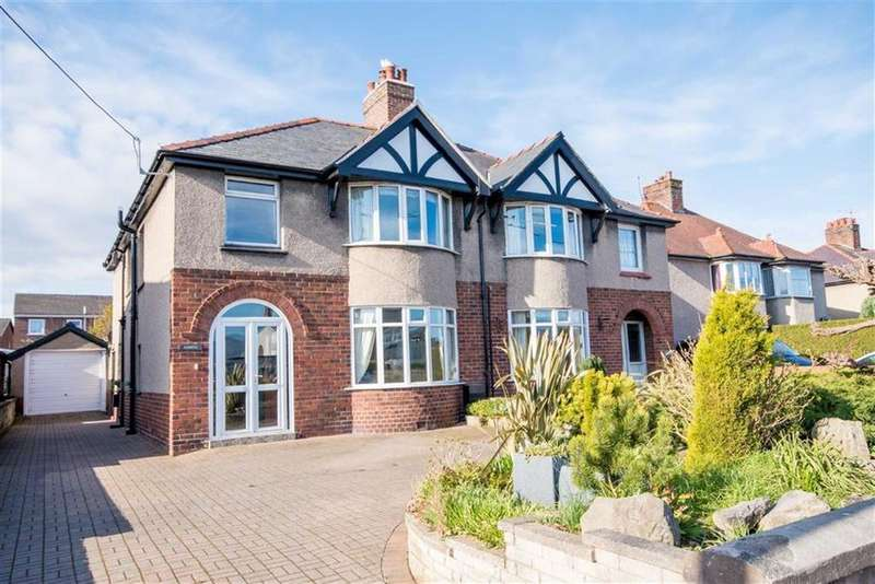 4 Bedrooms Semi Detached House for sale in Denbigh Road, Ruthin