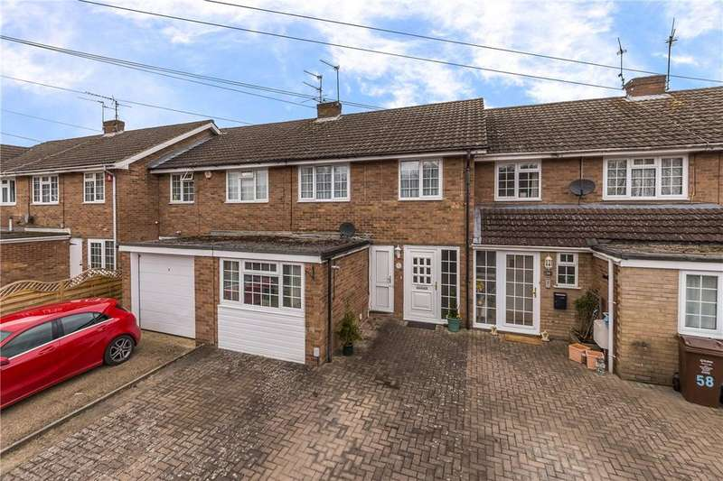 3 Bedrooms Terraced House for sale in Claremont, Bricket Wood, St. Albans, Hertfordshire