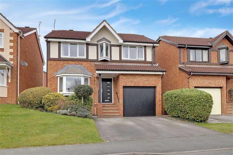 4 Bedrooms Detached House for sale in Field Lane, Wistaston, Crewe