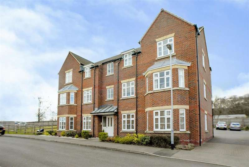 2 Bedrooms Apartment Flat for sale in Swallow Crescent, Ravenshead, Nottingham