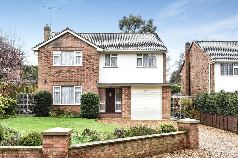 4 Bedrooms Detached House for sale in Harts Leap Road, Sandhurst, Berkshire, GU47