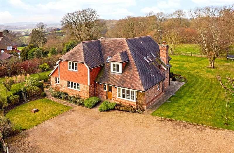 4 Bedrooms Detached House for sale in Nunnery Lane, Penshurst, Tonbridge, Kent, TN11