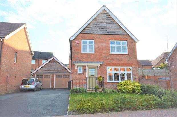 3 Bedrooms Detached House for sale in Clover Way, Highweek, Newton Abbot, Devon. TQ12 1GE