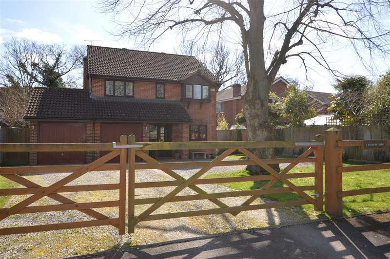 4 Bedrooms Detached House for sale in Tanners Close, Burghfield Common, Reading, RG7