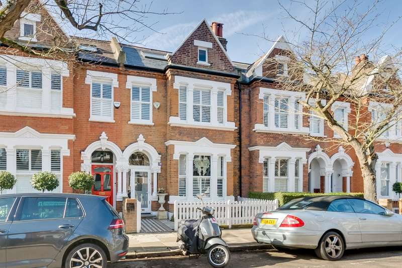 5 Bedrooms Terraced House for sale in Elm Grove Road, Barnes