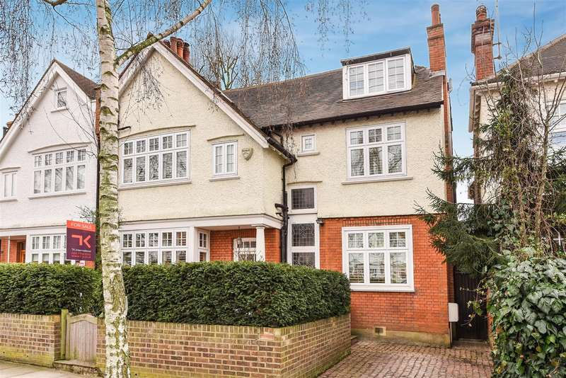 6 Bedrooms House for sale in Briardale Gardens, Hampstead NW3