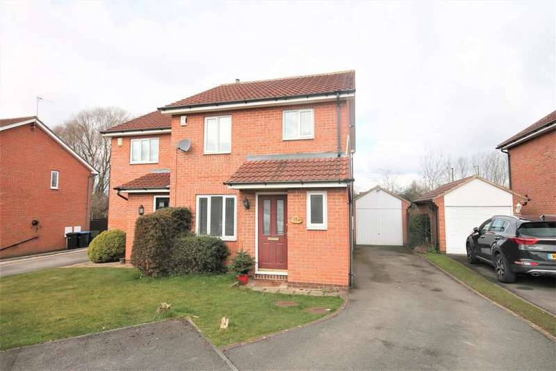 3 Bedrooms Semi Detached House for sale in Blairgowrie, Marton-In-Cleveland, Middlesbrough