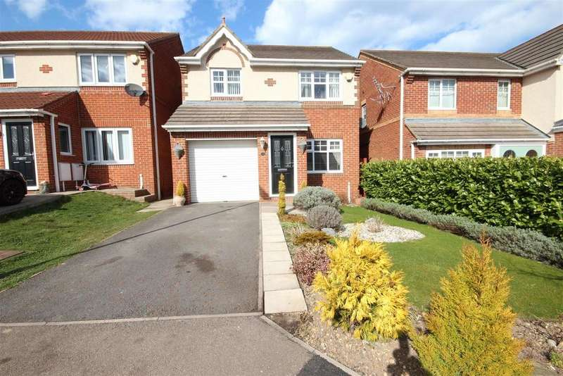 3 Bedrooms Detached House for sale in Redshank Close, Bishop Cuthbert, Hartlepool