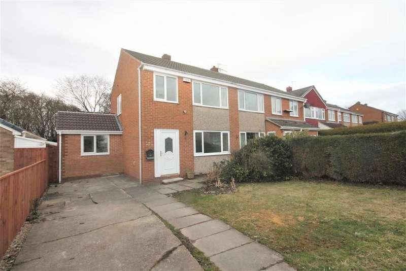 3 Bedrooms Semi Detached House for sale in Alderlea, Marton