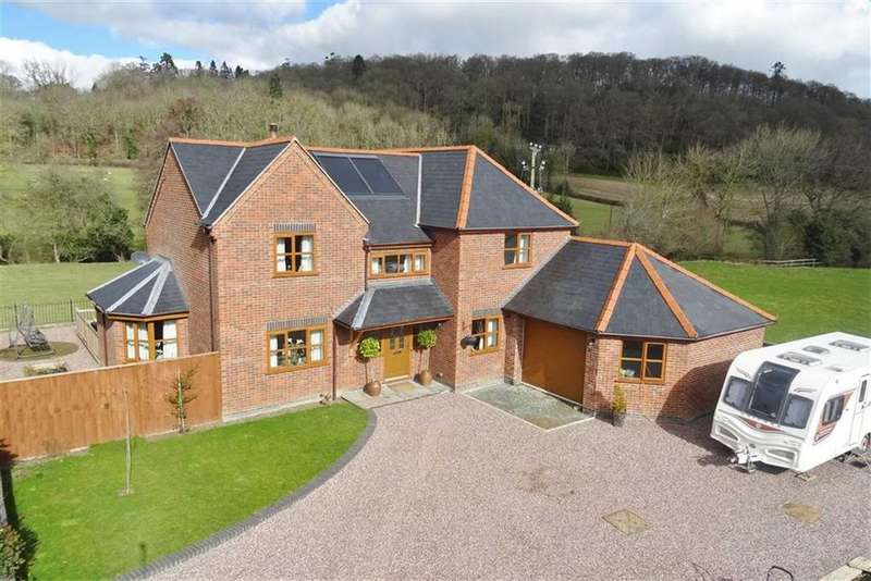 4 Bedrooms Detached House for sale in 3, Trawscoed View, Groesllwyd, Welshpool, Powys, SY21
