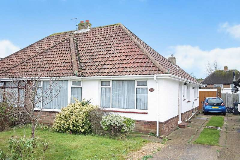 3 Bedrooms Semi Detached Bungalow for sale in Franklin Road, Shoreham-by-Sea, BN43 6YE