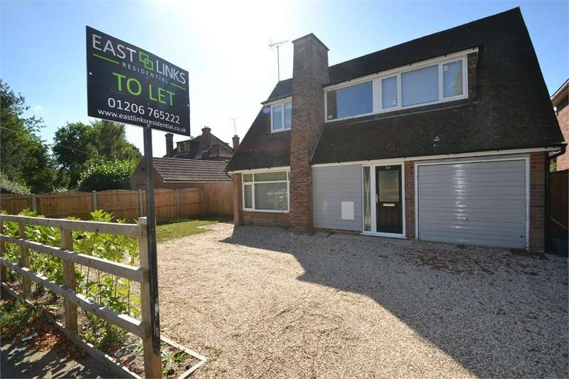 3 Bedrooms Detached House for rent in Catchpool Road, Colchester, Essex, co1