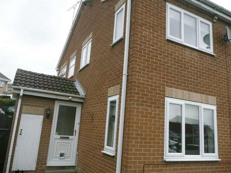 1 Bedroom Town House for sale in Dowland Gardens, High Green, Sheffield, S35