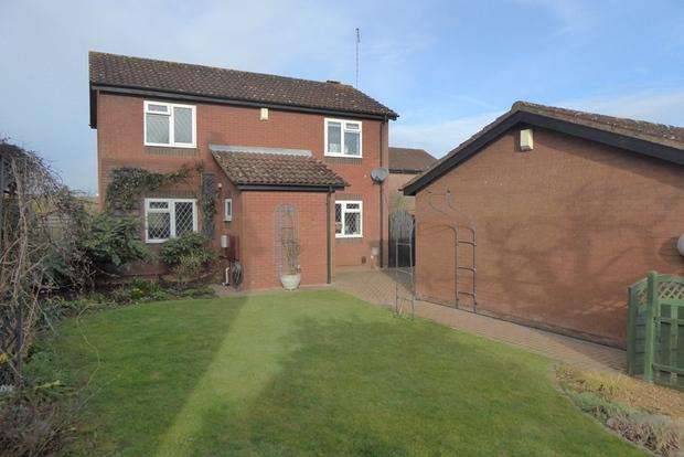3 Bedrooms Detached House for sale in Woodhall Close, West Hunsbury, Northampton, NN4
