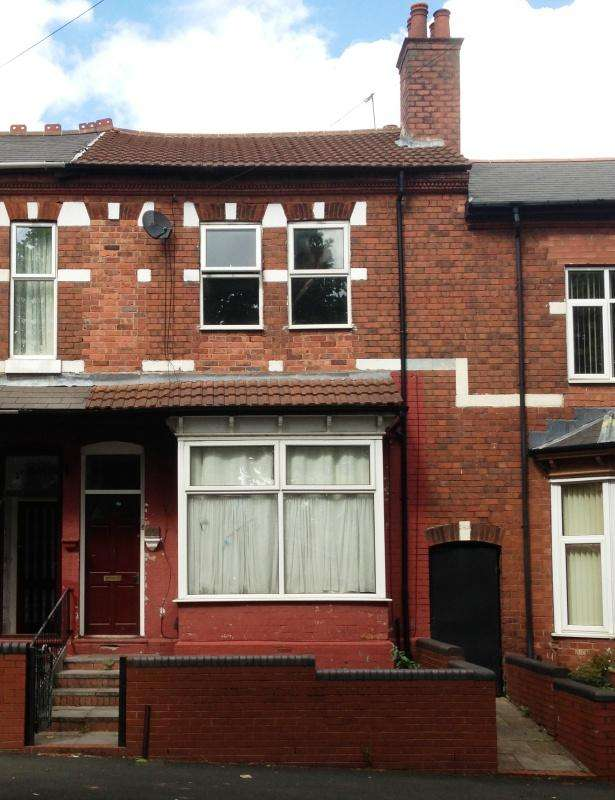3 Bedrooms Terraced House for sale in WESTBOURNE RD, HANDSWORTH, BIRMINGHAM, B21