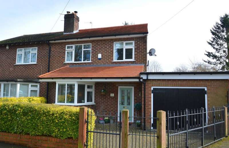 4 Bedrooms Semi Detached House for sale in Manor Crescent, Knutsford