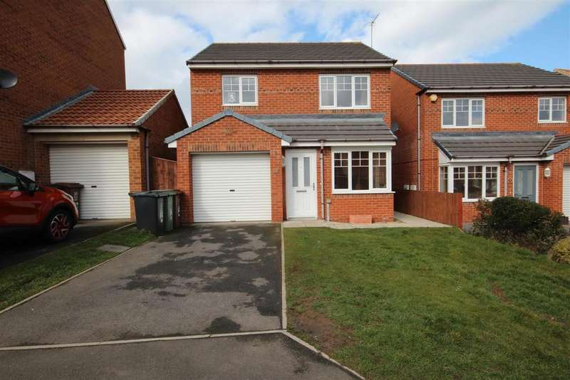 3 Bedrooms Detached House for sale in Rosebud Close, Bishop Cuthbert, Hartlepool