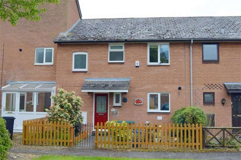 3 Bedrooms Terraced House for sale in 64, Lon Glanyrafon, Vaynor, Newtown, Powys, SY16