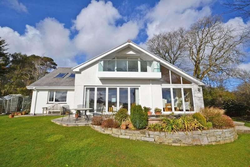 4 Bedrooms Detached House for sale in Carwinion Road, Mawnan Smith, Between Falmouth and the Helford River, TR11
