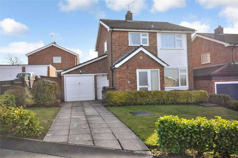 3 Bedrooms Detached House for sale in Severn Hill, Melton Mowbray, Leicestershire