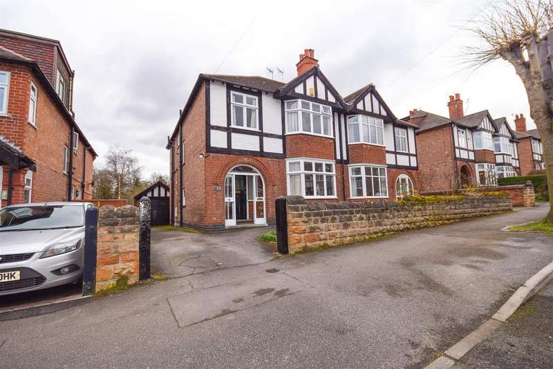 4 Bedrooms Semi Detached House for sale in Selby Road, West Bridgford, Nottingham