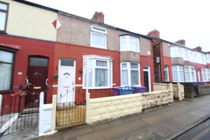 2 Bedrooms Terraced House for sale in Baden Road, Old Swan, Liverpool