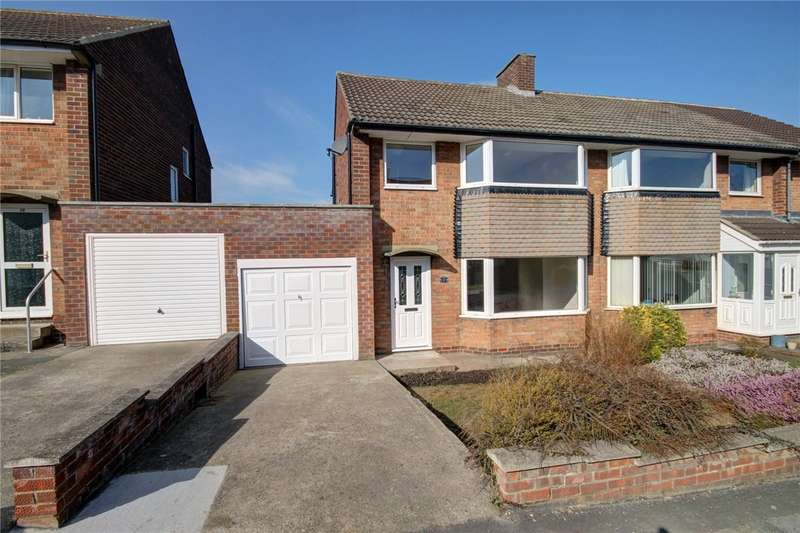 3 Bedrooms Semi Detached House for sale in Hastings Avenue, Merryoaks, Durham, DH1