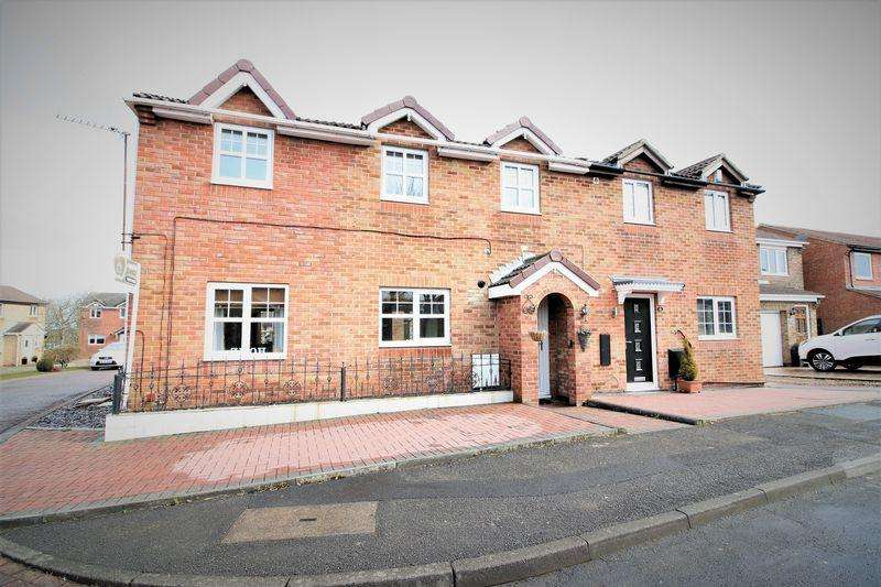 4 Bedrooms Semi Detached House for sale in Brougham Court, Peterlee