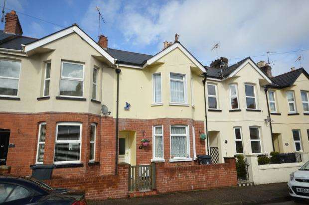 2 Bedrooms Terraced House for sale in Lymebourne Avenue, Sidmouth, Devon