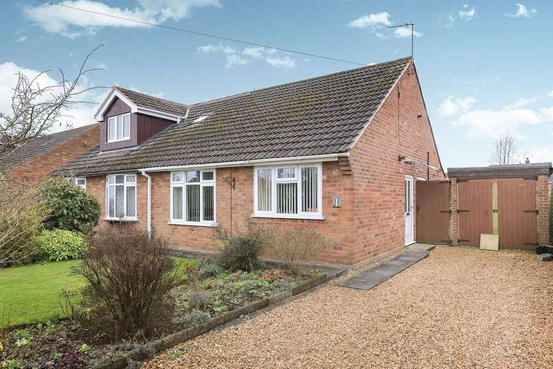 2 Bedrooms Semi Detached Bungalow for sale in Three Ashes Road, Bridgnorth, WV16