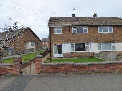3 Bedrooms Semi Detached House for sale in The Circle, Clipstone, Mansfield, Nottinghamshire