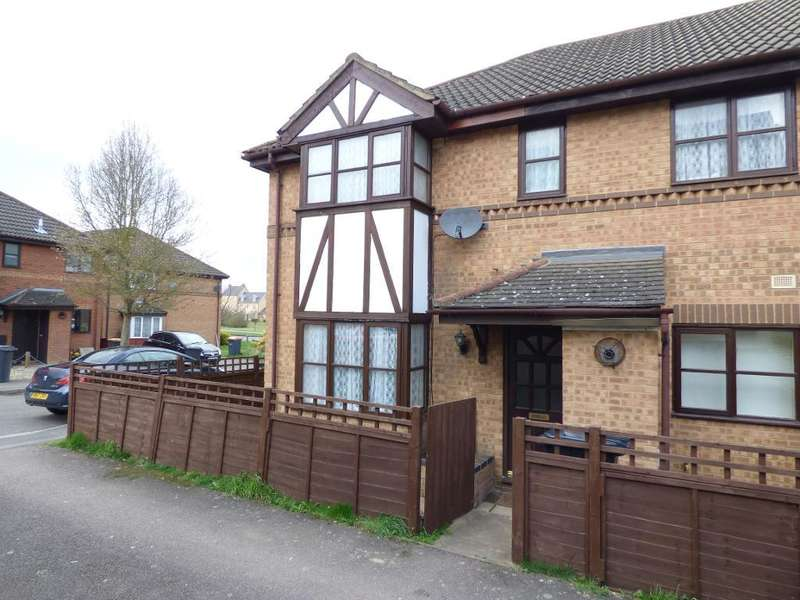 2 Bedrooms Cluster House for sale in Poppyfields, Bedford, MK41 0TN